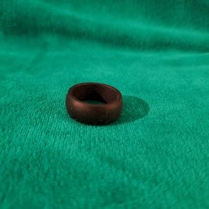 Other - Black silicone wedding band ring